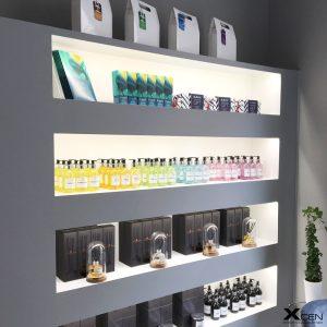 LED för butiksinredning
